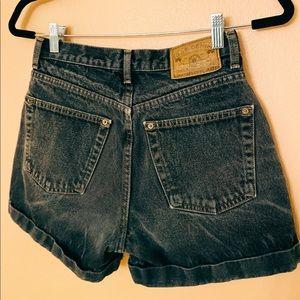 Vintage 90s Gap mom high-waisted jean shorts